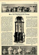 Kunsttöpfereien von Elisabeth Schmidt-Pecht Konstanz Historische Aufnahmen 1900