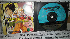 DRAGON BALL Z per SEGA SATURN game console gioco GIAPPONESE JAP JAPAN