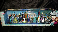 Disney FROZEN 20pc Custom Ornament Figures Set Lot Kids Adult Gift New in Box