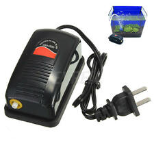 Efficient Adjustable Aquarium Oxygen Fish Air Pump Tank Energy Super Silent Hot