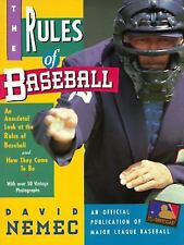 NEW - The Rules of Baseball by Nemec, David