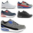 NEW MENS AIR TECH RUNNING TRAINERS GYM WALKING HI TOP SPORTS SHOES UK SIZE 7-11