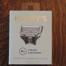 New Harry's 4 Count Razor Blade Cartridges NIB for Winston and Truman Handles