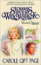 Carole Page - Storms Over Willowbrook (1998) - Used - Trade Paper (Paperbac