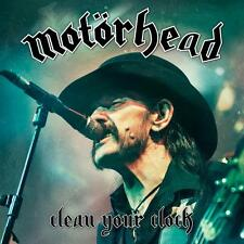 MOTORHEAD 'CLEAN YOUR CLOCK' CD + DVD SET (+ Pop Up Art) (2016)