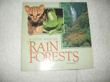 Kids fun paperback:A Look Around Rain Forests-photos+cool info-animals+people of