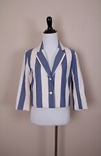 Maison Kitsuné Women's Stripe Jacket Size 4 Retail $535 Item A5702