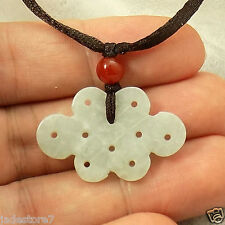 Chinese knot symbol of forever jade pendant necklace US SELLER