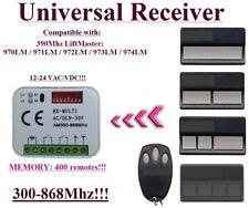 Liftmaster 970LM, 971LM, 972LM, 973LM, 974LM 390Mhz Kompatibel Funkempfänger