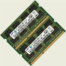 Samsung 8gb 2x4 Gb Ddr3-1600mhz Pc3-12800 sin búfer Laptop Memoria (RAM)