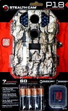 "STEALTH CAM P18 - 7MP DIGITAL GAME CAMERA - STC-P18CMO  ""FREE BATTERIES/SD CARD"""