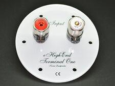 Terminal One mit Jantzen Audio Polklemmen (Ausführung rund weiß)