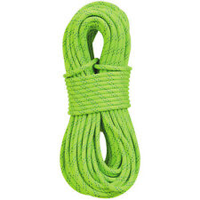 "New England Ropes KMIII 7/16"" x 200' Static Climbing Rescue Rope Polyester Green"