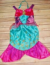 Disney Ariel Little Mermaid Costume size 4- 6X Fairy Princess Dress Up Sequins