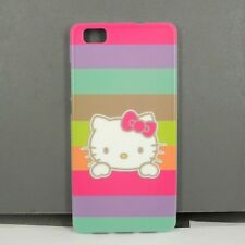 For Huawei P8 Lite Hello Kitty Phone Case Free Screen Protector