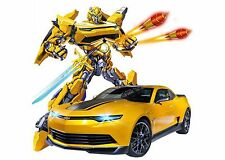 MZ Transformers 2367PF RC Warrior Bumblebee Ages 8+ Toy Remote Control Robot Car