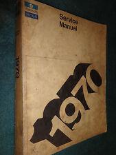 1970 CHRYSLER AND IMPERIAL SHOP MANUAL / ORIGINAL MOPAR SHOP BOOK!!!