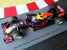 1/43 Red Bull Racing RB12 #33 Max Verstappen Winner GP Spain 2016 SPARK S5019