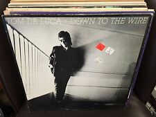 Tom De Luca Down to the Wire vinyl LP EX Epic 1986 promo