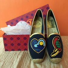 SALE!! TORY BURCH PARROT MISMATCHED ESPADRILLE Sizes 6, 7, 8 and 9