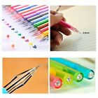 12 Colors Watercolor Office Supplies Student Colorful 0.5mm Rollerball Gel Pens