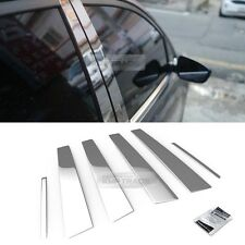 Stainless Steel Chrome Window Pillar Molding 6P For RENAULT 2010-2017 Fluence
