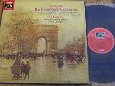 SLS 5103 Saint-Saens The Three Violin Concertos etc. / Hoelscher 3 LP box