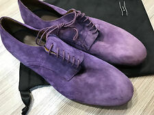 """Paul Smith Chagall Shoes UK8 EU42 """"MAINLINE Collection"""" Purple Suede RRP £273"""