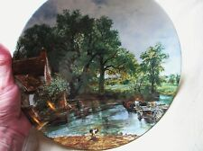 VINTAGE WALL DISPLAY DEEP PLATE DISH FAMOUS PAINTINGS BOLD COLOURS 9.75""