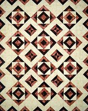 MIRRORED TILES QUILTING PATTERN, From Cut Loose Press Patterns NEW