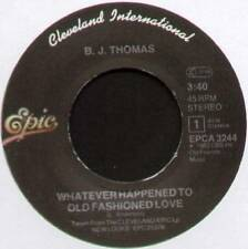 "B.J. THOMAS ~ WHATEVER HAPPENED TO OLD FASHIONED LOVE ~ 1983 DUTCH 7"" SINGLE"