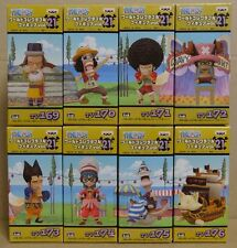 ONE PIECE WCF World Collectable Figure vol.21 Complete set
