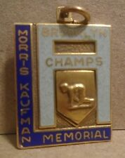 1948 100yard dash brooklyn n.y champs morris kaufman memorial key chain
