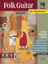 FOLK GUITAR FOR BEG/BK, Guitar teaching (pop), ALFRED - 14969