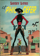 RARE EO DUPUIS 1956 + MORRIS + : LUCKY LUKE ET PHIL DEFER + PILULE ( N° 8 )