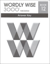 Wordly Wise 3000 Grade 12 Key **3rd Edition**