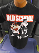 Mens Licensed Looney Tunes Old School Bugs Bunny & Taz Shirt New M