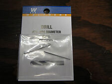 "Walthers Hobby Tools:  Drill Bits (pack of 2) .026""  #71  947-71"