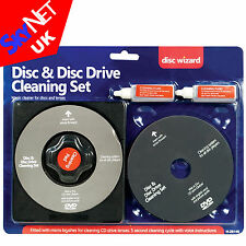 LASER LENS CLEANER KIT DI PULIZIA PER PS3 XBOX 360 BLU RAY DVD PLAYER CD DISC