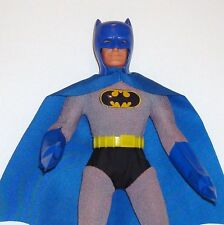 "1970's Original Mego 8"" Type 1 REMOVABLE COWL BATMAN Complete Action Figure NICE"