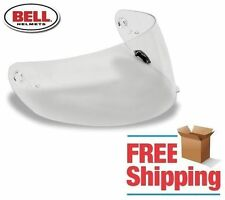 BELL BRAND VORTEX QUALIFIER DLX STAR REVOLVER RS-1 CLEAR ANTI FOG FACE SHIELD