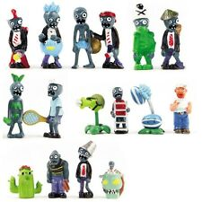 Lot of 16 PCS Different Plants vs Zombies Anime Action Figures PVZ