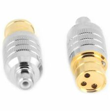 CARDAS FEMALE XLR Plug to Female RCA - Cardas Audio Clear CGA Audiophile Adapter