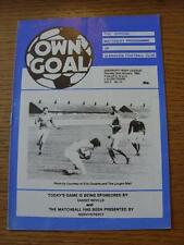 02/01/1984 Glenavon v Glentoran  (Scores/Notes Inside)