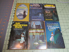RARE LOT #4 10 VINTAGE GOTHIC  MYSTERY / ROMANCE PAPERBACKS    GREAT CONDITION