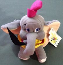 "Walt Disney World Exclusive 6"" Dumbo Bean Bag Plush Stuffed Animal NWT"