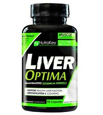 Nutrakey LIVER OPTIMA Organic Detox Cleanse PCT - 90 capsules ON-CYCLE SUPPORT