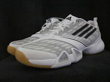 ADIDAS Sport Volleyball Volleio White G42632 Low Height Womens Shoes US 10 NWOB