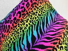 2 YD GOOD WEIGHT NYLON LYCRA SPANDEX PRINT H84