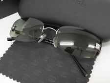Auth CHANEL Sunglasses Eye Wear CC Frameless 57□18 Green Italy 32130066400 K10BX